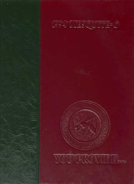 1994 Mesquite High School Yearbook Cover