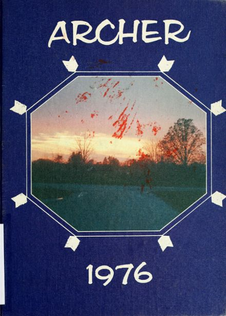 1976 Antwerp High School Yearbook Cover