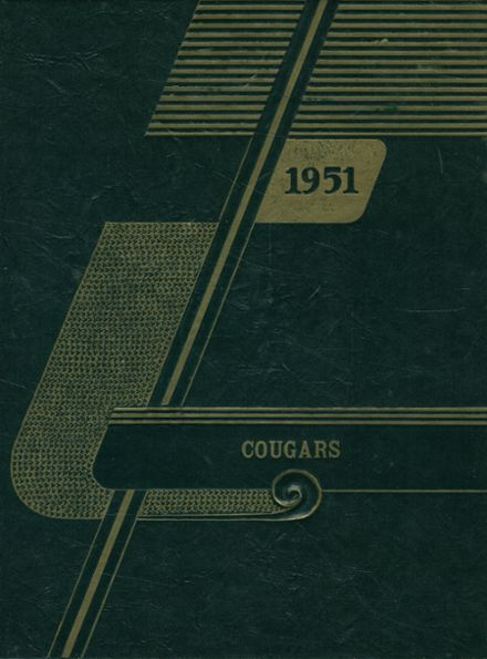 1951 Courtenay High School Yearbook Cover