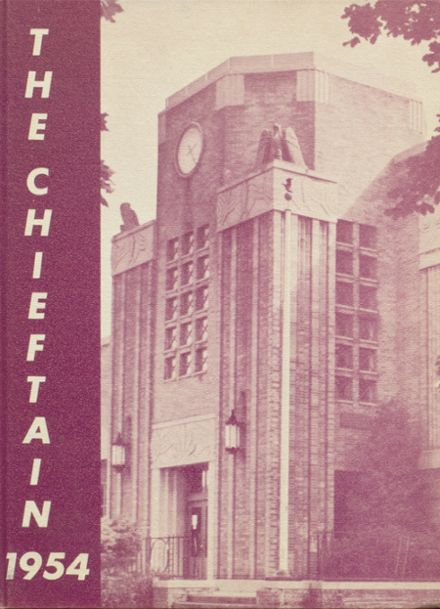 1954 Cohocton Central High School Yearbook Cover