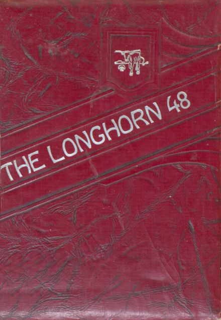 1948 Lawn High School Yearbook Cover