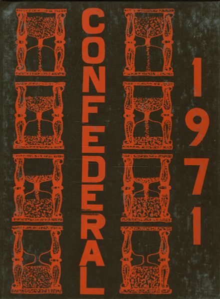 1971 Indian Valley High School Yearbook Cover