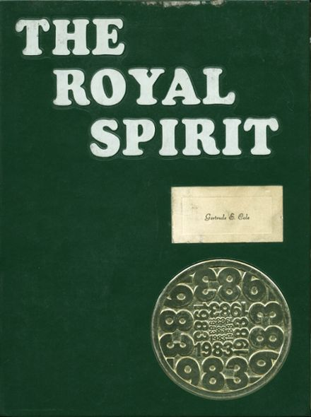 1983 Royal High School Yearbook Cover
