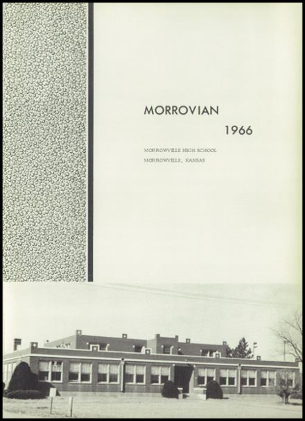 1966 Morrowville High School Yearbook Page 5