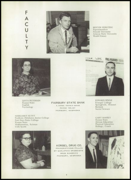 1966 Morrowville High School Yearbook Page 8