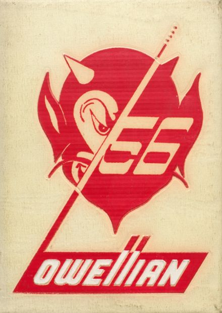1956 Lowell High School Yearbook Cover