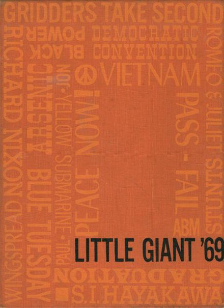 1969 Highland Park High School Yearbook Cover