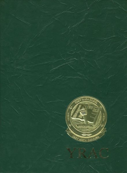 1980 Cary High School Yearbook Cover