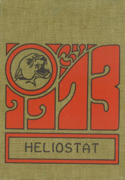 1973 Centralia High School Yearbook Cover