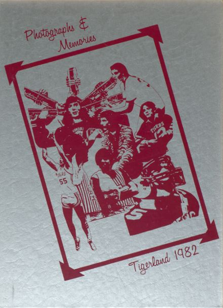 1982 A&M Consolidated High School Yearbook Cover