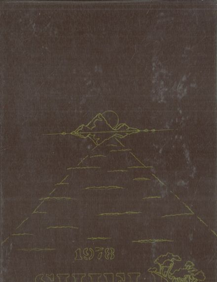1978 Camelback High School Yearbook Cover