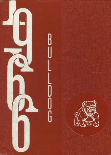 1966 Coahoma High School Yearbook Cover