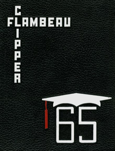 1965 DuBois Area High School Yearbook Cover