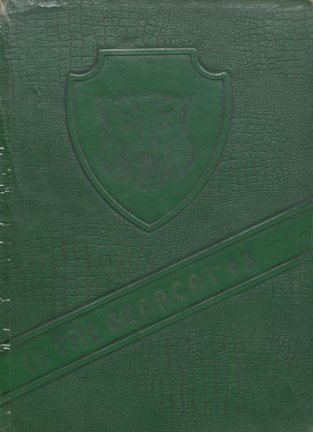 1948 Moody High School Yearbook Cover