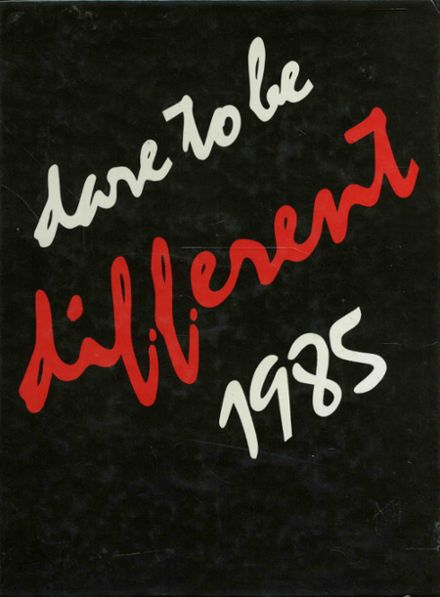 1985 Seaholm High School Yearbook Cover