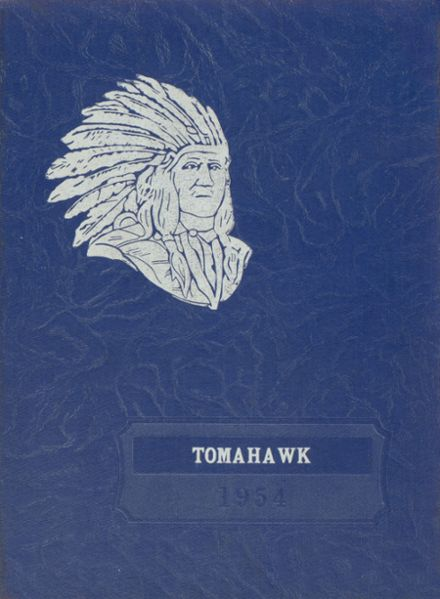 1954 Shellsburg Consolidated High School Yearbook Cover