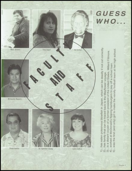 1999 Saint Monica Catholic High School Yearbook Page 9