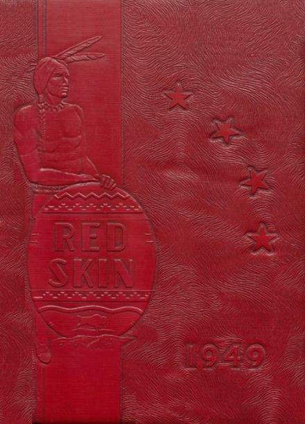 1949 Union High School Yearbook Cover