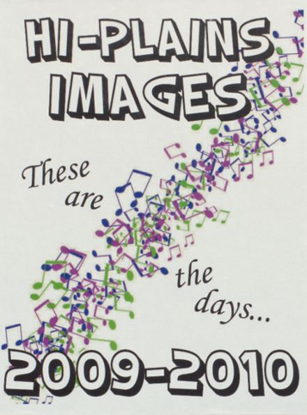 2010 Hi Plains High School Yearbook Cover