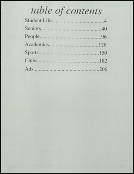 1995 Benjamin Franklin High School Yearbook Page 3