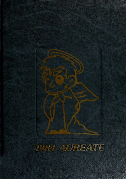 1984 Bishop Dwenger High School Yearbook Cover
