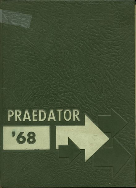 1968 Central Catholic High School Yearbook Cover