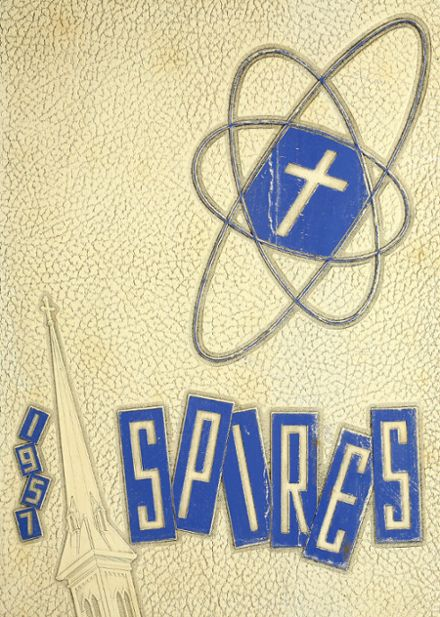 1957 Catholic Central High School Yearbook Cover