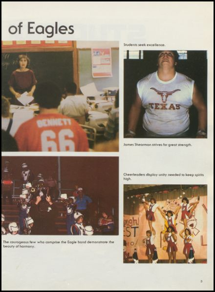 1985 Carter-Riverside High School Yearbook Page 7