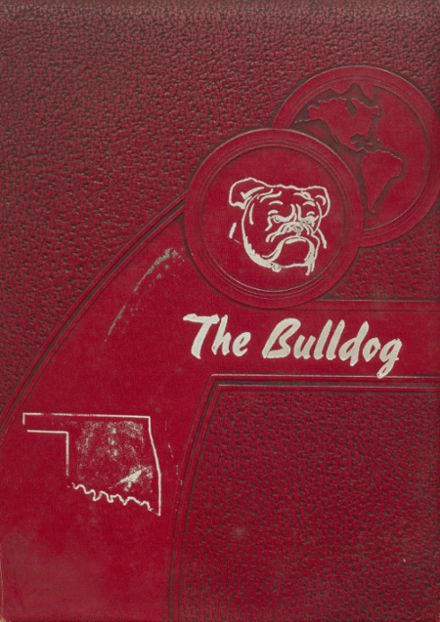 1953 Clayton High School Yearbook Cover