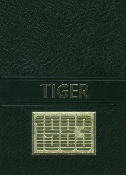1983 Collins High School Yearbook Cover