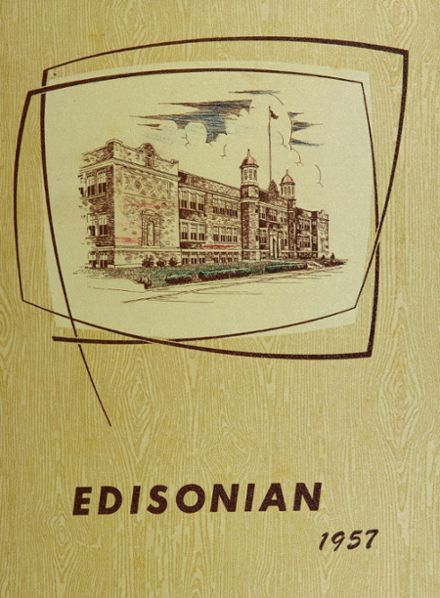 1957 Edison Technical High School Yearbook Cover