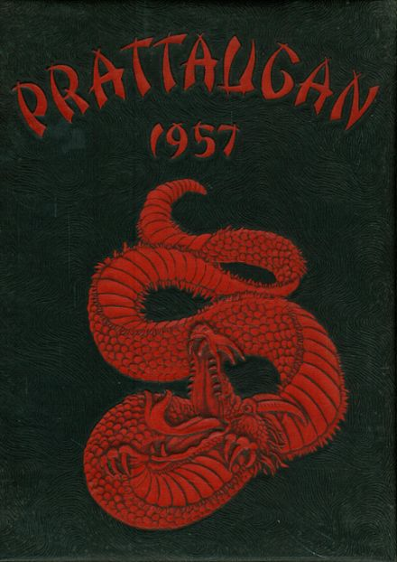 1957 Autauga County High School Yearbook Cover