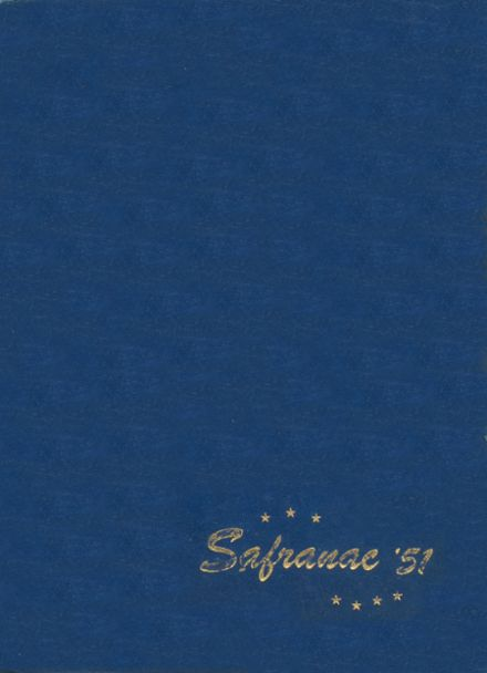 1951 St. Francis Academy Yearbook Cover