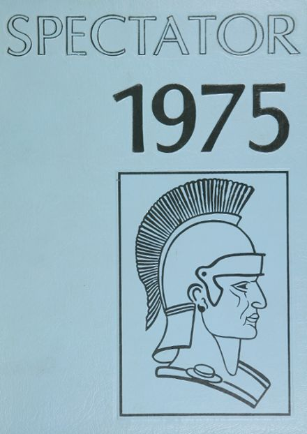 1975 Greater Johnstown High School Yearbook Cover
