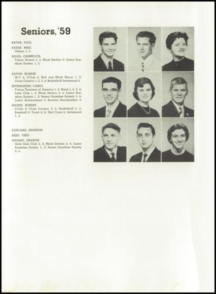 1959 Jefferson High School Yearbook Page 7
