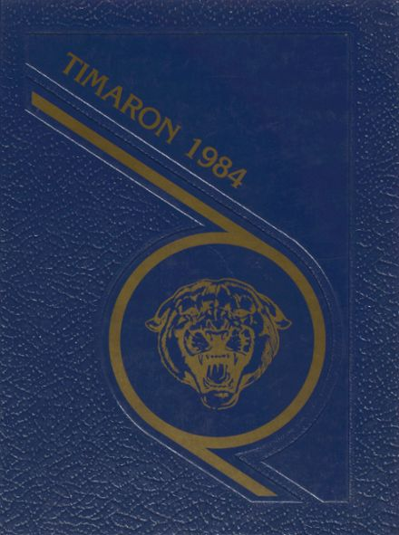 1984 Mt. Blue High School Yearbook Cover