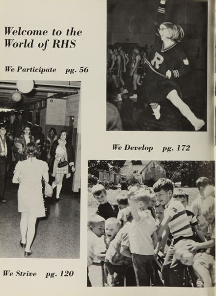 1970 Republic High School Yearbook Page 6