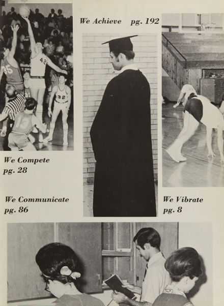1970 Republic High School Yearbook Page 7