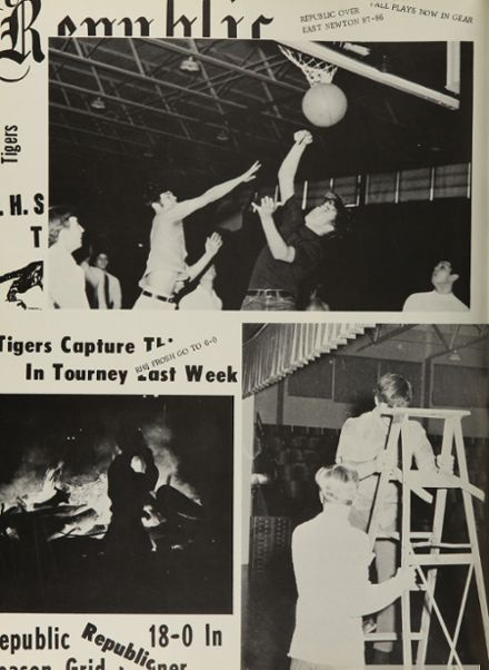 1970 Republic High School Yearbook Page 8