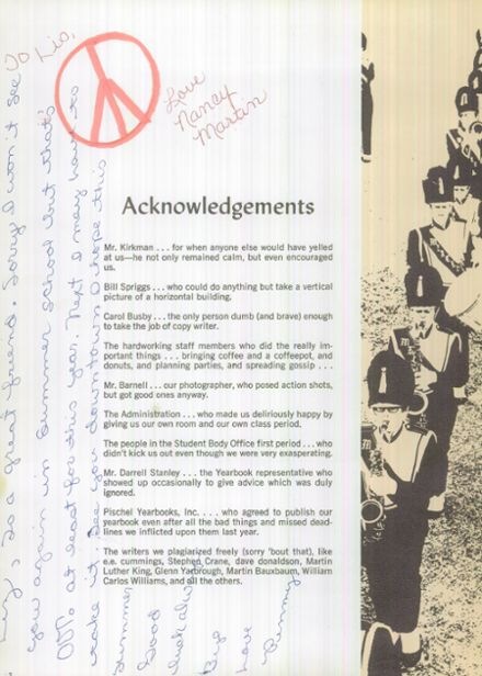 1969 Merced High School Yearbook Page 6
