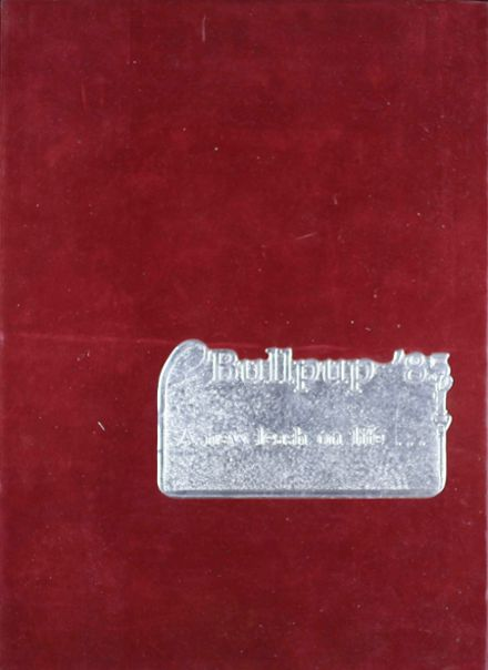1985 Mcpherson High School Yearbook Cover