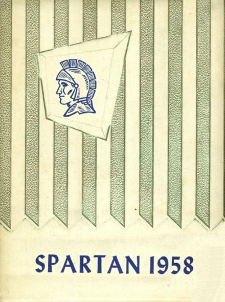 1958 Webberville High School Yearbook Cover