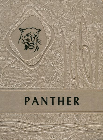1961 Huerfano County High School Yearbook Cover