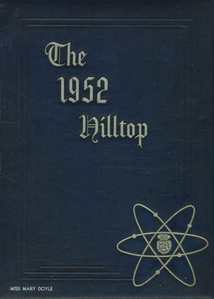 1952 Burnt Hills-Ballston Lake High School Yearbook Cover