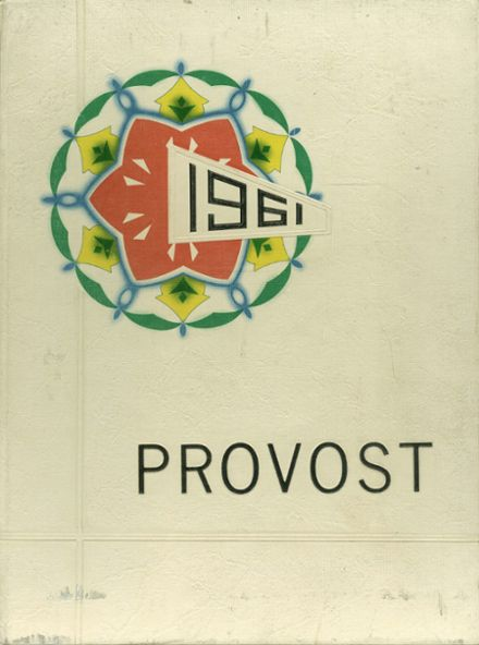 1961 Provo High School Yearbook Cover