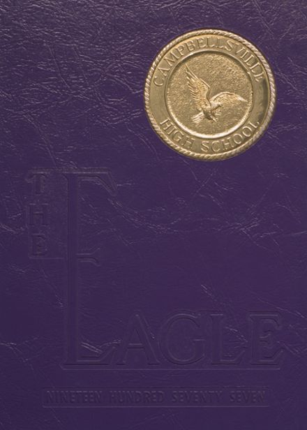 1977 Campbellsville High School Yearbook Cover