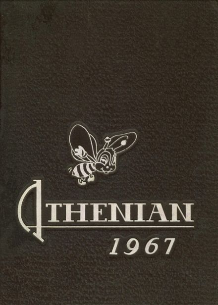 1967 Athens High School Yearbook Cover