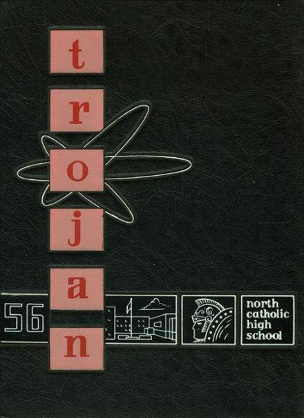 1956 North Catholic High School Yearbook Cover