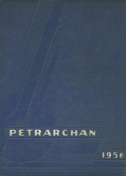 1956 St. Peter's High School Yearbook Cover