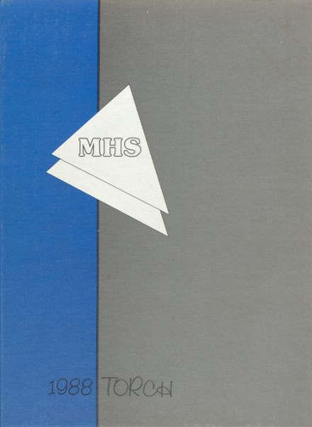 1988 Millville High School Yearbook Cover